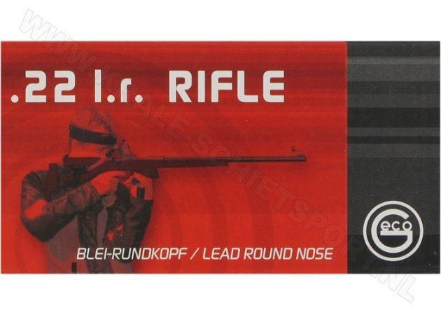 Kogelpatronen Geco Rifle .22 LR RN 40 Grain