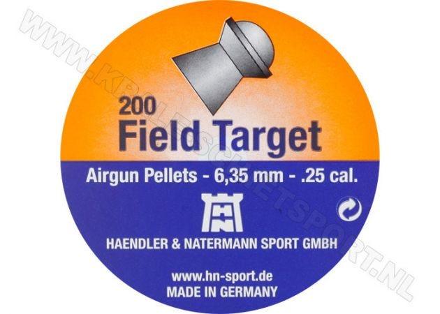 Luchtdrukkogeltjes H&N Field Target 6.35 mm 24.38 grain