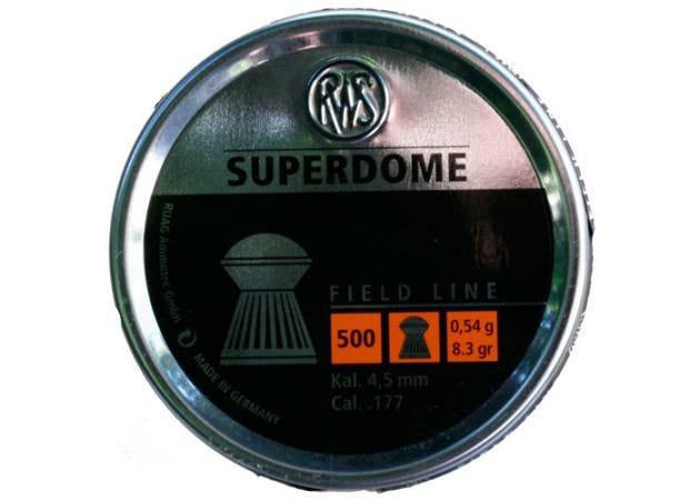 Airgun Pellets RWS Superdome 4.5 mm 8.3 grain