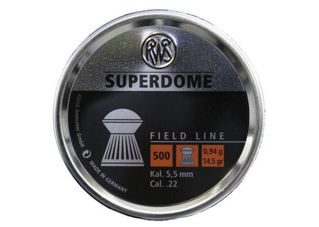 Airgun Pellets RWS Superdome 5.5 mm 14.5 grain