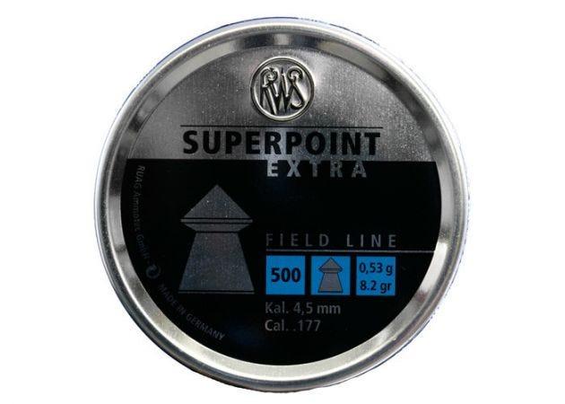 Airgun Pellets Superpoint Extra 4.5 mm 8.2 grain