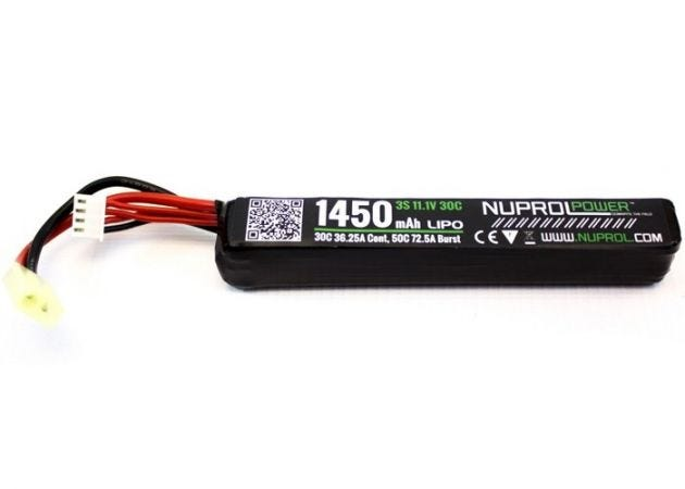 Batterij Nuprol LiPo 11.1v 1450mAh Stick