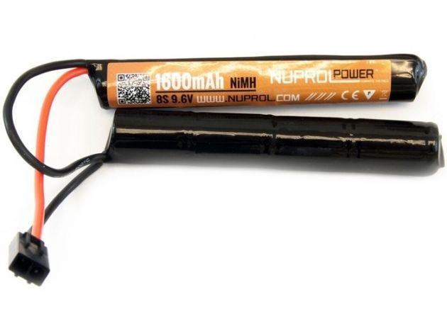 Batterij Nuprol NiMH 9.6v 1600mAh Nunchuck