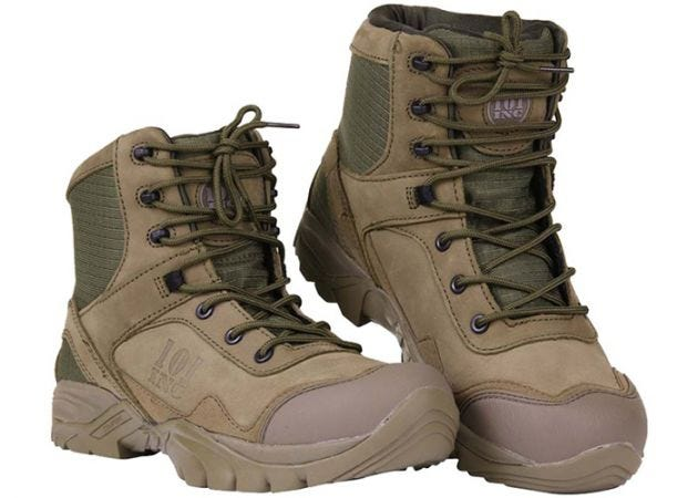 Schoenen 101 Inc. Tactical Recon Mid Top OD Green