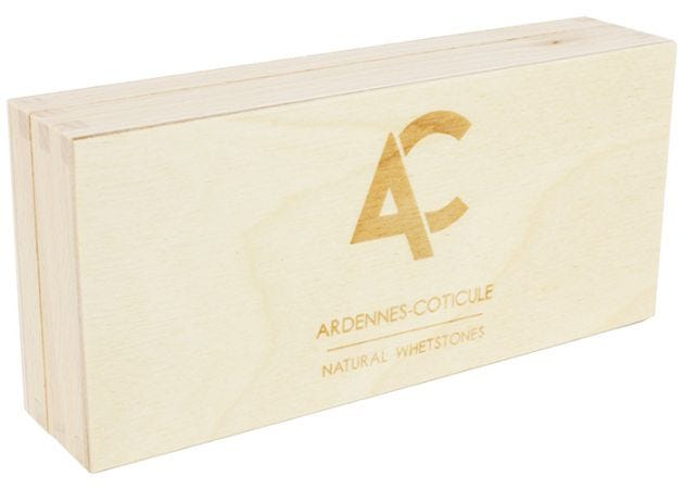 Opbergbox Ardennes Coticule voor slijpsteen 150x60mm