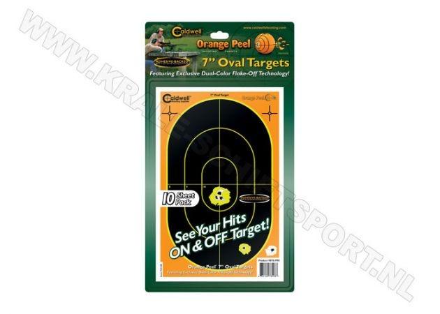 "Orange Peel Caldwell sillhouette targets 7"""