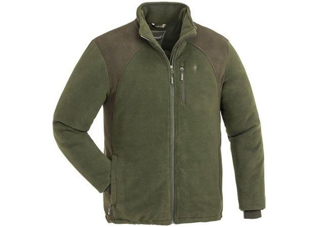 Fleece Vest Pinewood Harrie Green/Mocha Brown