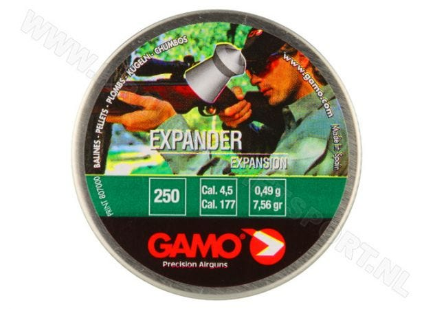 Airgun Pellets Gamo Expander 4.5 mm 7.56 grain