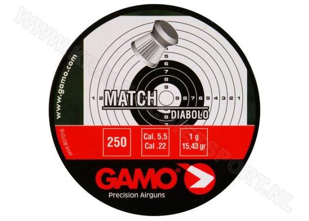 Airgun Pellets Gamo Match 5.5 mm 15.43 grain