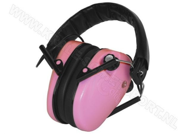Hearing Protector Caldwell E-Max Low-Profile Electronic Pink