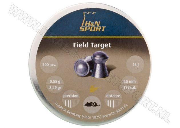 Airgun Pelelts H&N Field Target 4.5 mm 8.49 grain