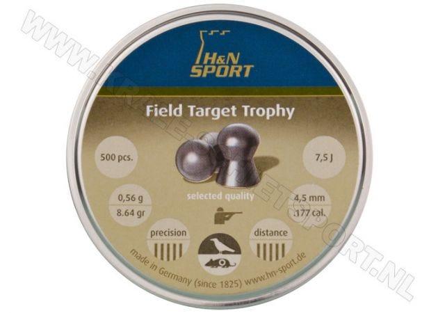 Airgun Pellets H&N Field Target Trophy 4.52 mm 8.64 grain