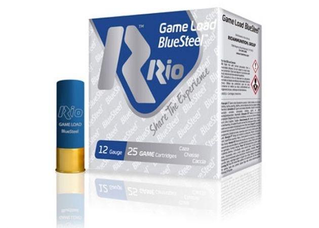 Hagelpatronen Rio Game Load BlueSteel kal. 12 36 gram
