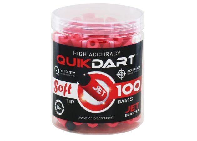 Jet Blaster Quick Darts Red