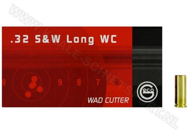 Ammunition Geco .32 S&W-Long LWC 100 grain