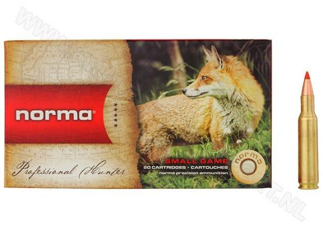 Kogelpatronen Norma .222 Rem V-max 40 grain