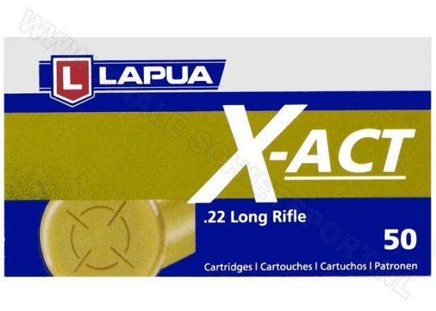 Ammunition Lapua X-Act .22 LR RN 40 Grain