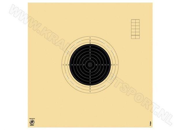 Kruger klein kaliber geweer schijf 50 m met sleuf 2040S