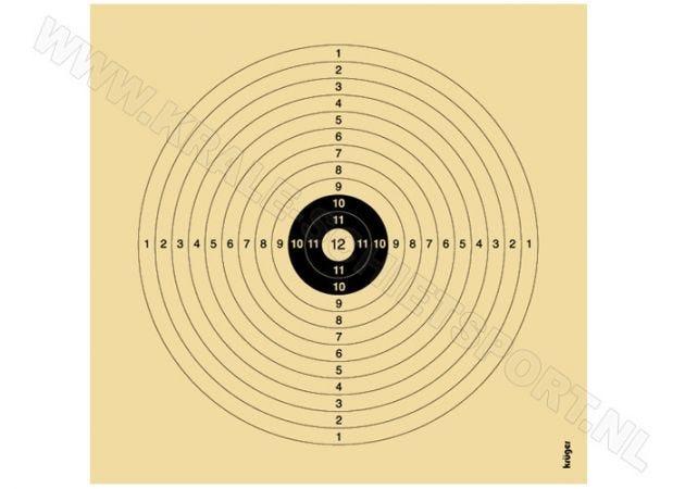 Recreational Target 1312 1 Bullseye