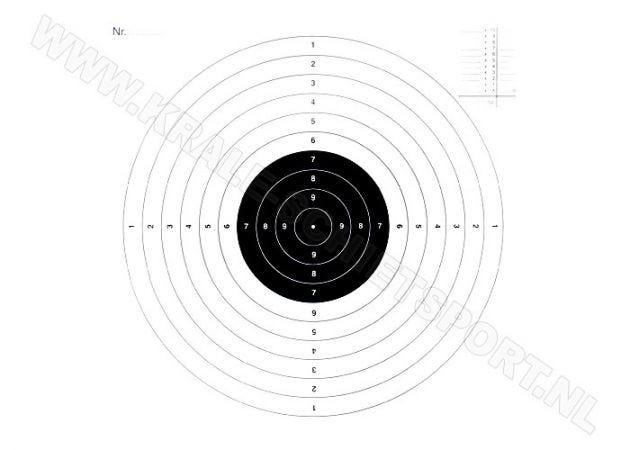 Kruger Recreatieschijf 2323, 1 visueel