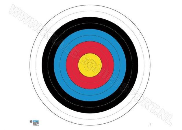 Kruger Handboog trainingschijf 8080T