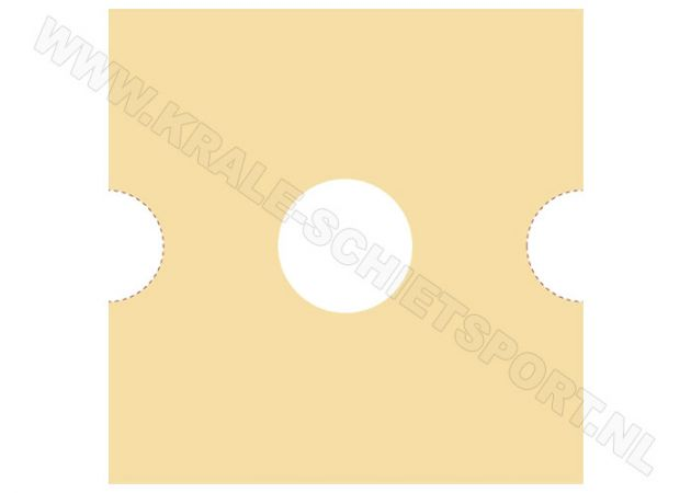 Kruger target-strip holder - improved type for stripes with 5.2 cm in width 1202