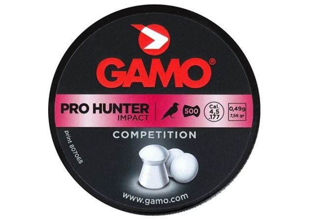 Airgun Pellets Gamo Pro Hunter 4.5 mm 7.56 grain