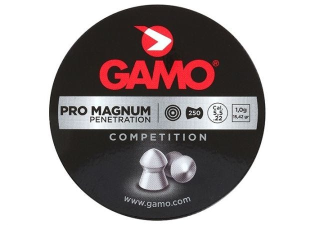 Airgun Pellets Gamo Pro Magnum 5.5 mm 15.42 grain