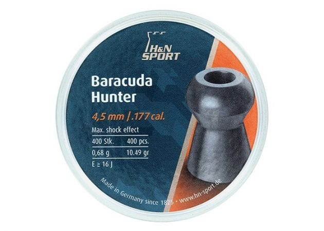 Airgun Pellets H&N Baracuda Hunter 4.5 mm 10.49 grain