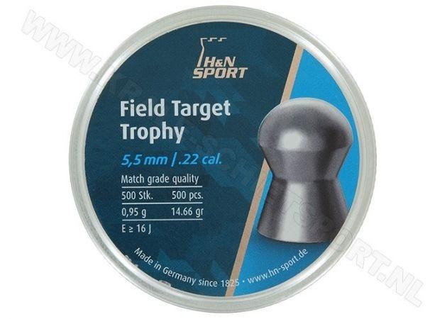Airgun Pellets H&N Field Target Trophy 5.53 mm 14.66 grain