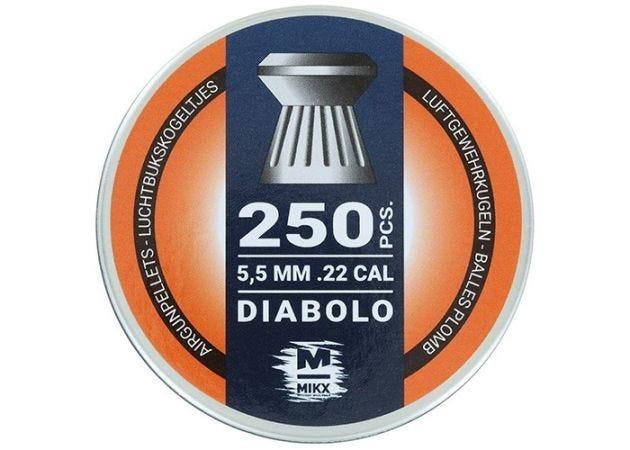 Airgun Pellets Mikx Flat Diabolo 5.5 mm 13.2 grain