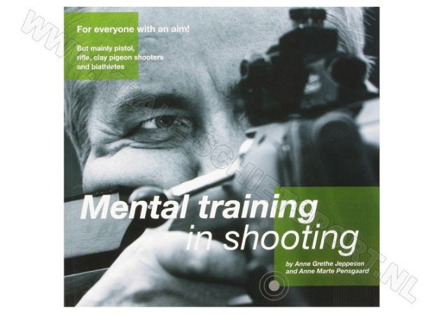 "Boek ""Mental training in shooting"""