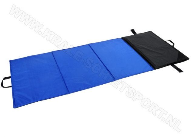 Prone mat AHG 385 with 4 segments blue