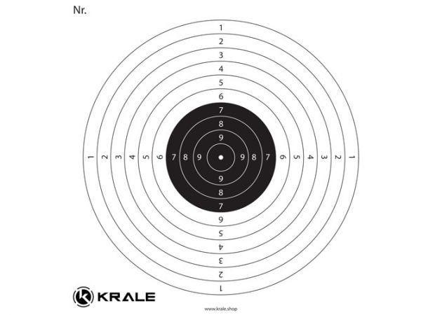 Recreational Target Krale 1 Bullseye 2323
