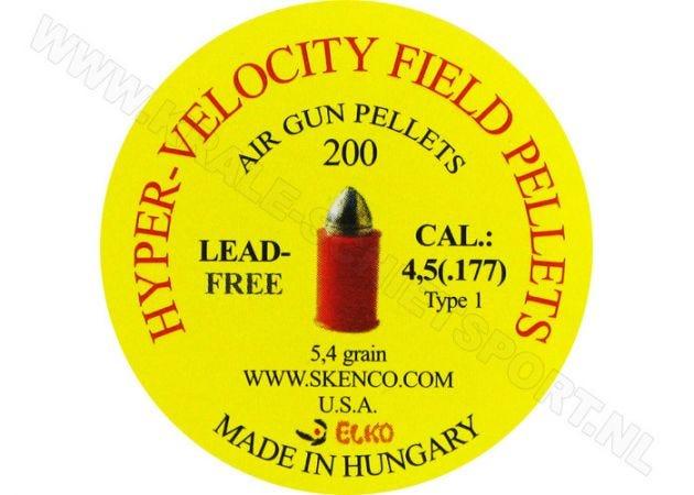 Airgun Pellets Skenco HV Orange Stinger 4.5 mm 5.4 grain