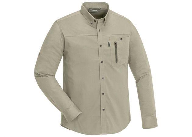 Overhemd Pinewood Tiveden Insect-Stop Light Khaki