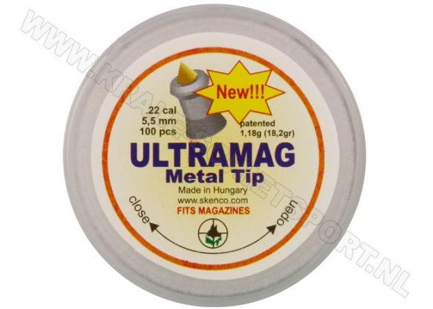 Luchtdrukkogeltjes Skenco Ultramag Metal Tip 5.5 mm 18.2 grain