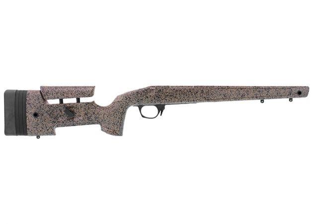 Geweerkolf Bergara B14 HMR Brown/Black voor Remington Footprint SA