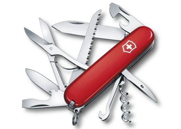 Zwitsers Zakmes Victorinox Huntsman 15 Functies