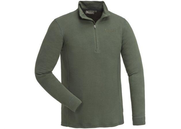 Thermoshirt Pinewood Abisko Merino Dark Mossgreen
