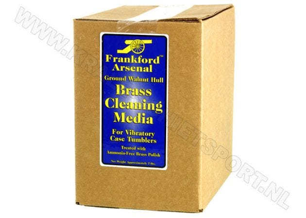 Frankford Arsenal Brass Cleaning Media Walnut